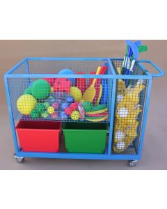 GC2004 Deluxe Sports Storage Trolley