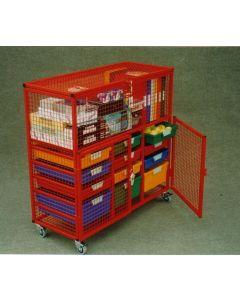 LS101 Red Lockit Trolley